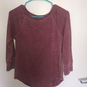Mossimo 3/4 shirt